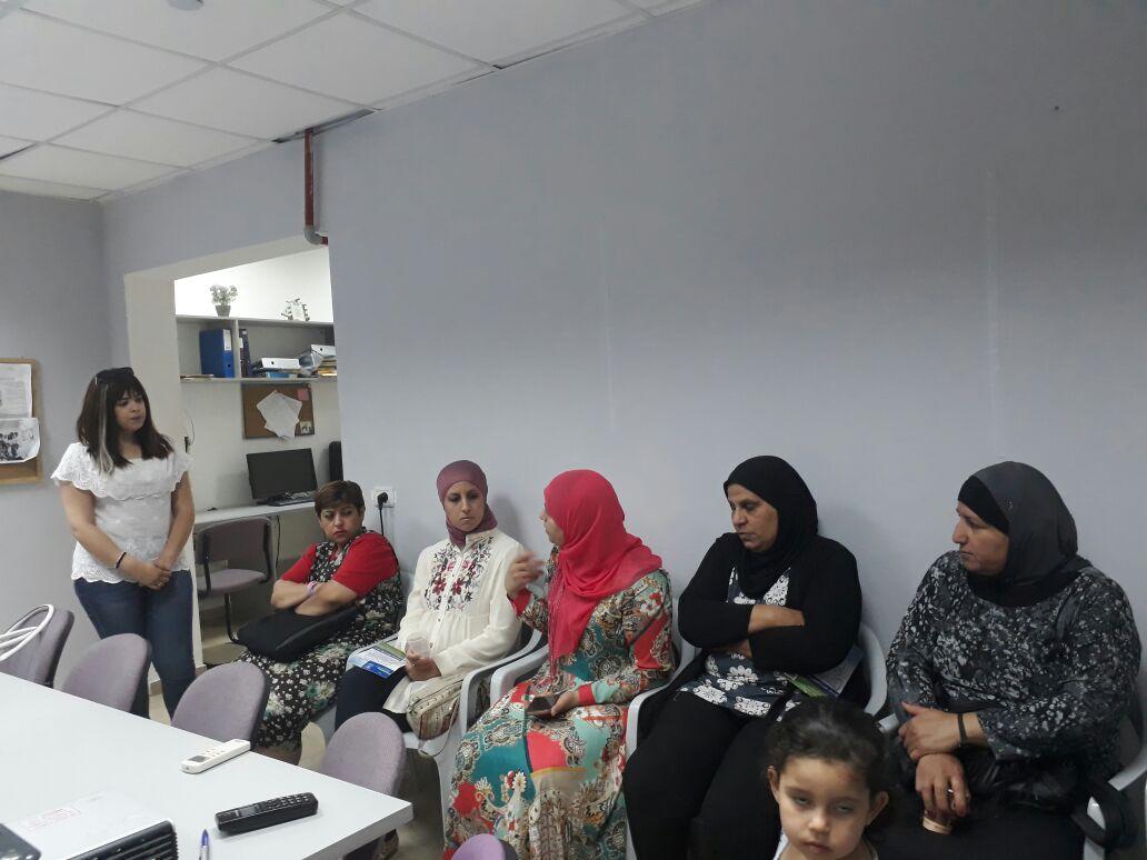 """لقاء أهالي في الرازي مع ممثلة جمعية """"يديد"""""""
